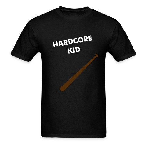 hardcore kid t-shirt - Men's T-Shirt