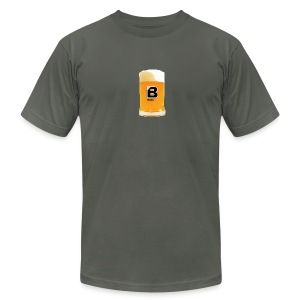 BULGEBULL BEER - Men's T-Shirt by American Apparel
