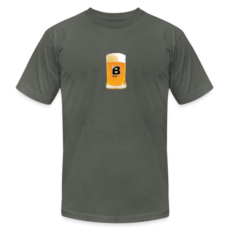 BULGEBULL BEER - Men's Fine Jersey T-Shirt