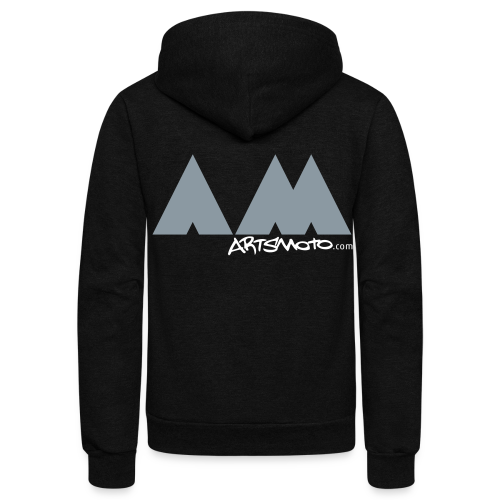 AM Triangles - Unisex Fleece Zip Hoodie