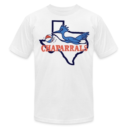 Throwback Chaparrals Basketball Tee - Men's Fine Jersey T-Shirt