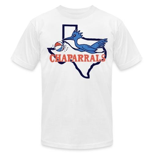 Throwback Chaparrals Basketball Tee - Men's Fine Jersey T-Shirt