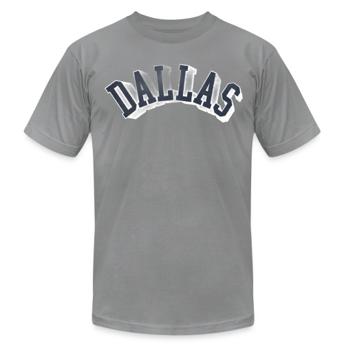 Throwback Dallas Texas Tee - Men's Fine Jersey T-Shirt