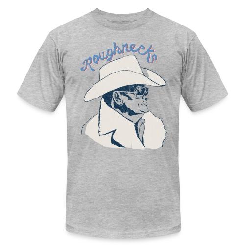 Throwback Roughnecks Football Tee - Men's Fine Jersey T-Shirt