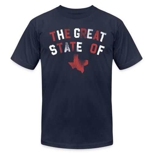 Texas Throwback Tee - Men's Fine Jersey T-Shirt