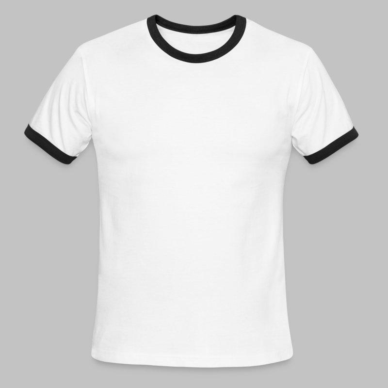 County Name Map - Men's Ringer T-Shirt