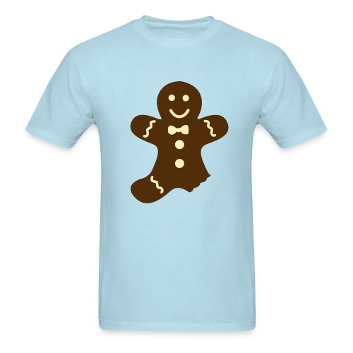 Partially Eaten Gingerbread Man  - Men's T-Shirt