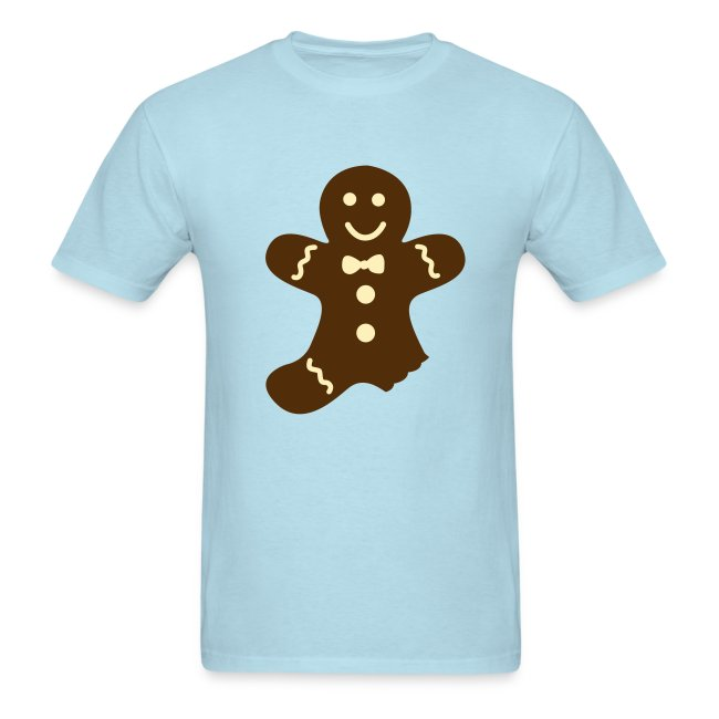 partially eaten gingerbread man