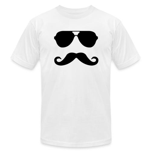 bro-stache - Men's  Jersey T-Shirt