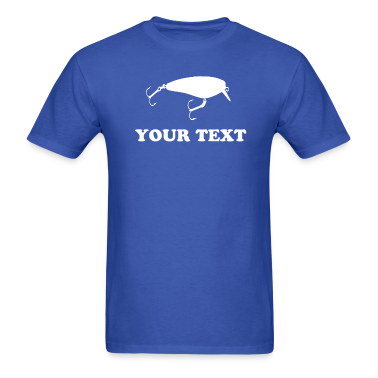 CRANKBAIT FISHING LURE - VECTOR - TEMPLATE T-Shirts