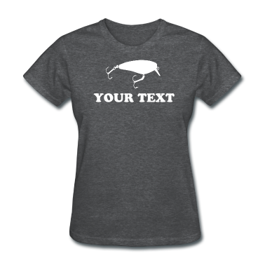 CRANKBAIT FISHING LURE - VECTOR - TEMPLATE Women's T-Shirts