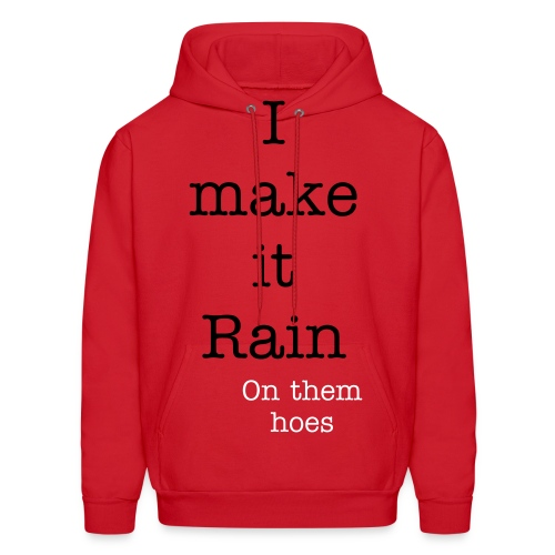 Rainonthemhoes - Men's Hoodie
