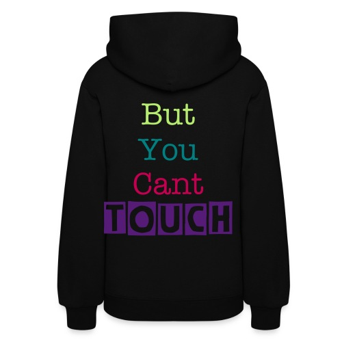 no touching - Women's Hoodie