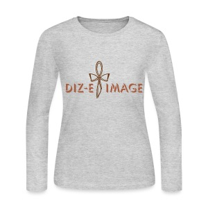Diz-E Image Long Sleeve Tee  - Women's Long Sleeve Jersey T-Shirt