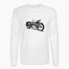 1929 Cleveland Motorcycle Long Sleeve T-shirt
