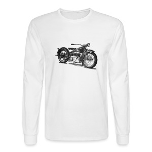 1929 Cleveland Motorcycle Long Sleeve T-shirt - Men's Long Sleeve T-Shirt