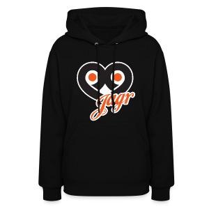 Womens I Heart Jagr Sweatshirt - Women's Hoodie