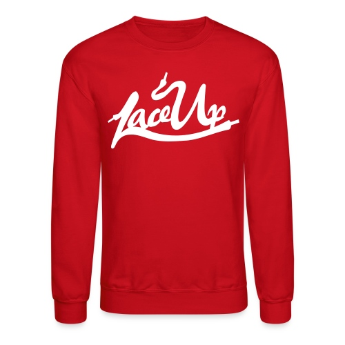 Lace Up T Shirt Crewneck - Crewneck Sweatshirt