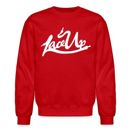 Lace Up T Shirt Crewneck - Crewneck Sweatshirt