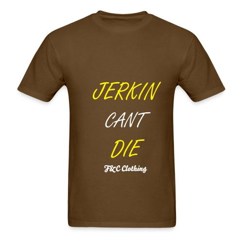 Jerkin Cant Die Tee Brown - Men's T-Shirt