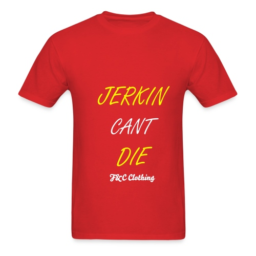 Jerkin Cant Die Tee Red - Men's T-Shirt