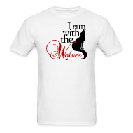 T-Shirts ~ Men's T-Shirt ~ I run with the wolves  (Twilight / Breaking Dawn)