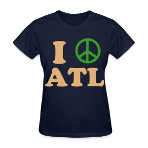Peace ATL women - Women's T-Shirt