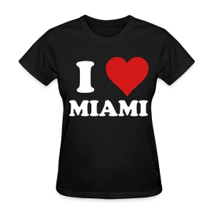 I Love MIAMI women - Women's T-Shirt