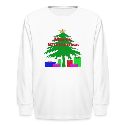 Kid's - Christmas Tree - Kids' Long Sleeve T-Shirt
