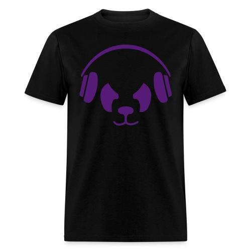 Purple Panda T-Shirt - Men's T-Shirt