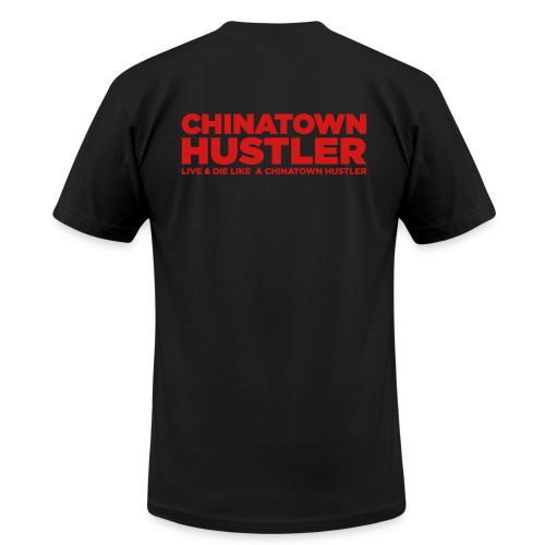 MSG / Chinatown Hustler - Men's T-Shirt by American Apparel