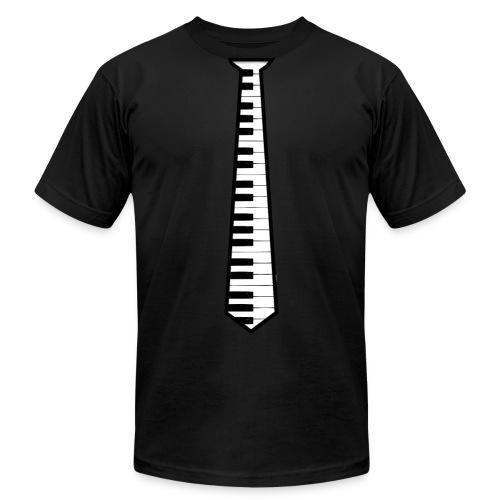 Piano Tie - Men's Fine Jersey T-Shirt