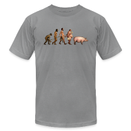 T-Shirts ~ Men's T-Shirt by American Apparel ~ Article 8557110