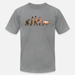 Men's T-Shirt by American Apparel - hi quality digital direct printing