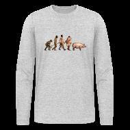 Long Sleeve Shirts ~ Men's Long Sleeve T-Shirt by Next Level ~ Article 8557114