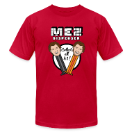 T-Shirts ~ Men's T-Shirt by American Apparel ~ Mez Dispenser