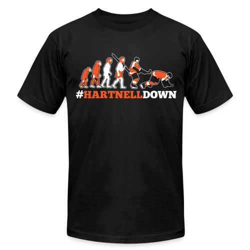 Hartnell Down - Men's T-Shirt by American Apparel