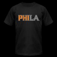T-Shirts ~ Men's T-Shirt by American Apparel ~ PHILA