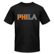 T-Shirts ~ Men's T-Shirt by American Apparel ~ PHILA