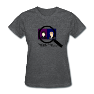 Women's T-Shirts ~ Women's T-Shirt ~ Sherlock and John Microscope (Womens)