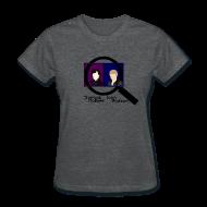 Women's T-Shirts ~ Women's T-Shirt ~ Sherlock and John Microscope (Womens)