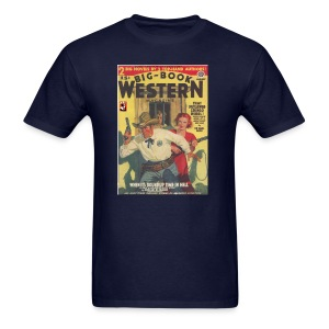 Big Book Western Pulp January 1940 - Men's T-Shirt