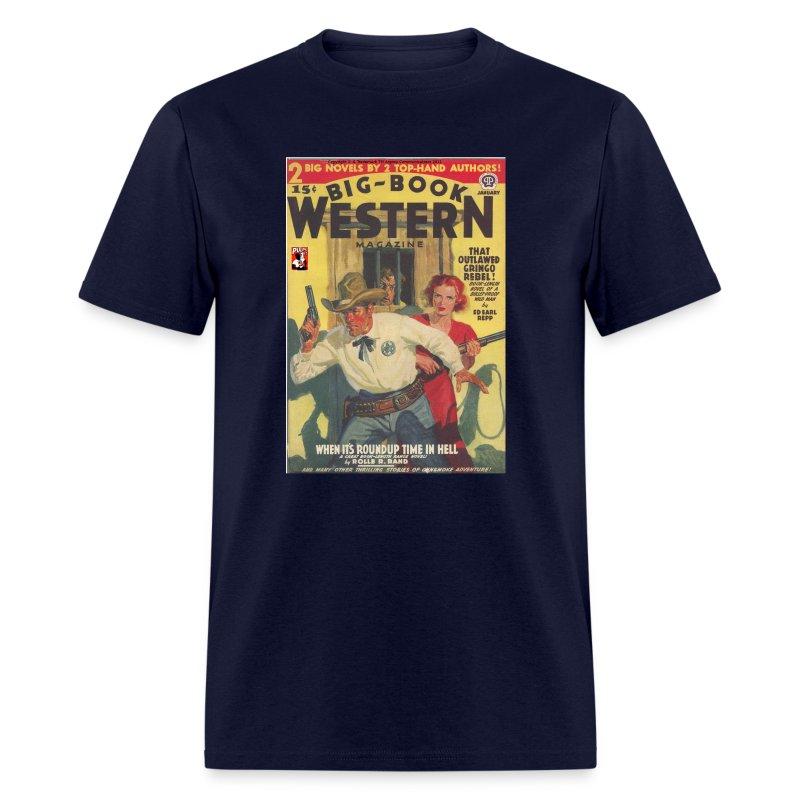 Big Book Western Pulp January 1940 - Men's T-Shirt