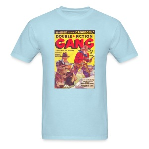 Souble Action Gang Pulp May 1936 1st Issue  - Men's T-Shirt