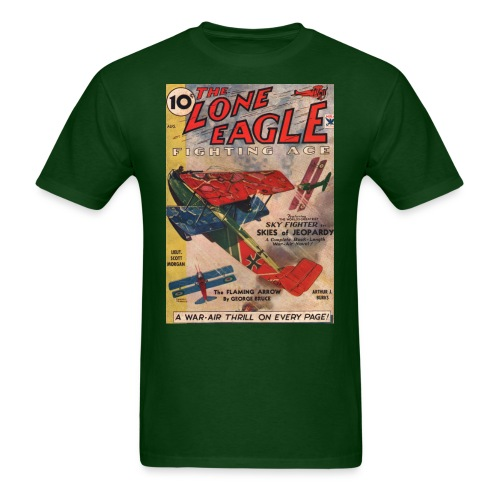 Lone-eagle-1934-08 - Men's T-Shirt