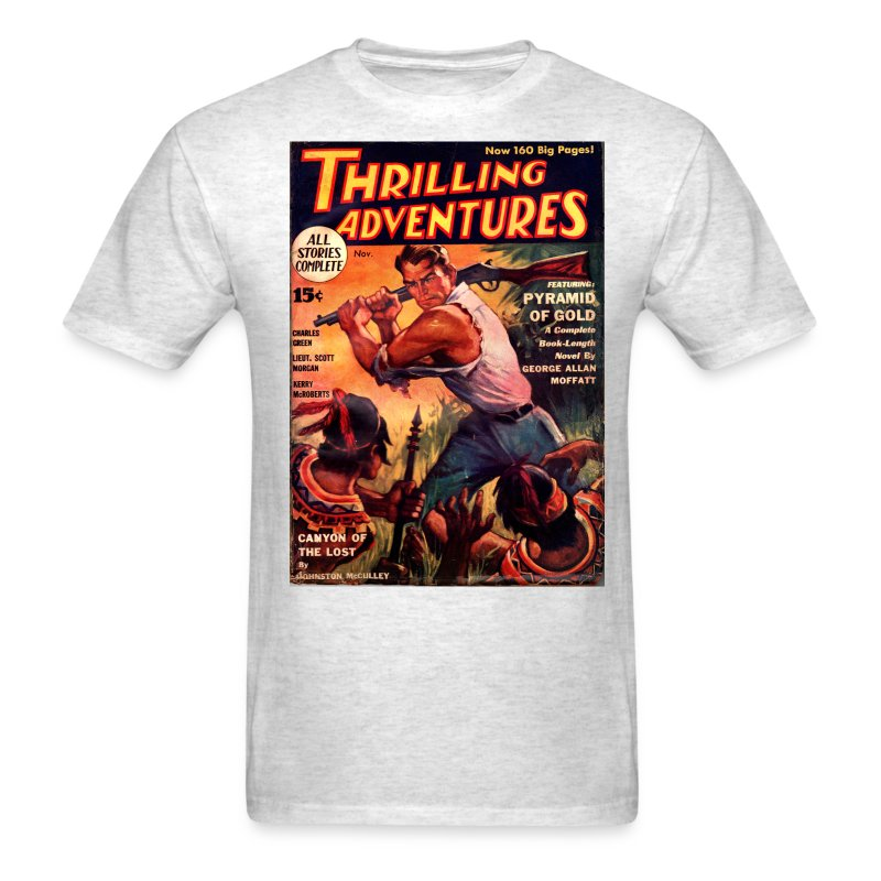 ThrillingAdventure103311 - Men's T-Shirt