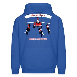 Horse Race - Cheaters Always Win - Mens Hoody - Men's Hoodie