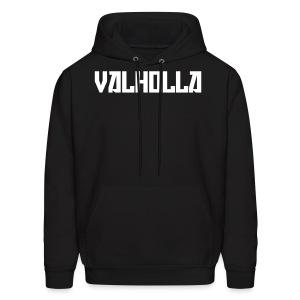 Valholla is the Future Hoodie (Sweatshirt) Black - Men's Hoodie