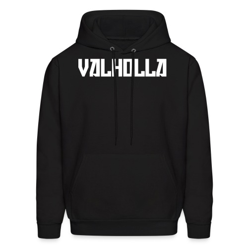 Valholla is the Future Hoodie (Sweatshirt) Black - Men's Hoodie