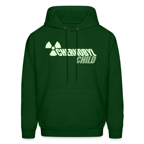 CHERNOBYL CHILD GLOW-IN-THE-DARK - Men's Hoodie